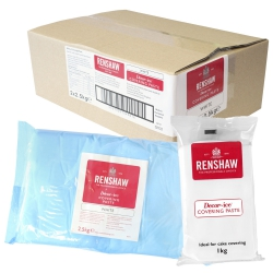 Renshaw White Decor-Ice Covering Paste