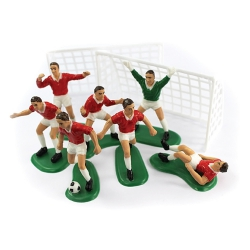 Red Football Decoration Set