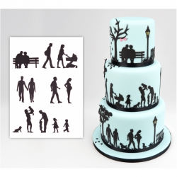 Patchwork Cutters - Family Silhouette Cutter Set