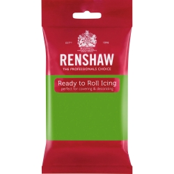 Renshaw Ready to Roll Icing - Lincoln Green 250g