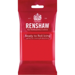 Renshaw Ready to Roll Icing - Poppy Red