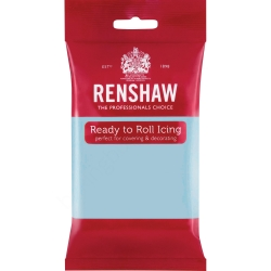 Renshaw Ready to Roll Icing - Baby Blue 250g