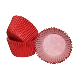 Red Cupcake Cases