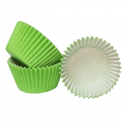 Lime green Cupcake Cases