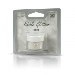 White - Edible Glitter
