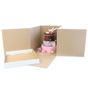 Heavy Duty Cube Cake Box