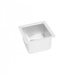 "Square Cake Tin - 3"" Deep"