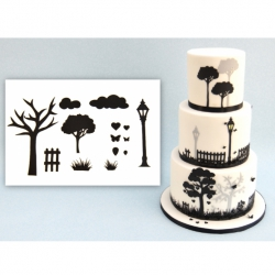 Patchwork Cutters - Countryside Silhouette Cutter Set