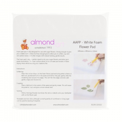 White Foam Flower Pad