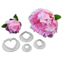 Peony Cutters - Set of 4