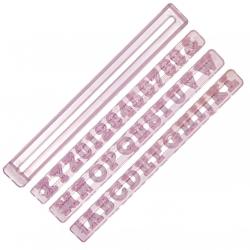Alphabet & Number Cutters - Upper Case 15mm