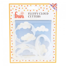 Fluffy Cloud Cutters - Set of 5