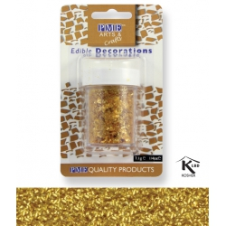 Gold Edible Glitter Flakes - 7g