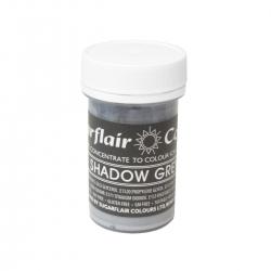 Sugarflair Shadow Grey Pastel Paste Colour - 25g