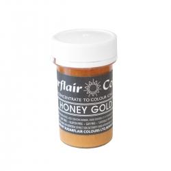 Sugarflair Honey Gold Pastel Paste Colour - 25g