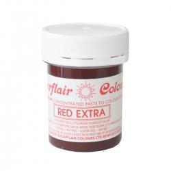 Sugarflair Red Extra Paste Colour - 42g
