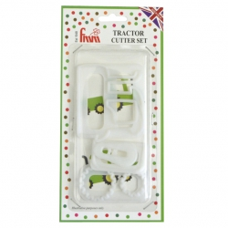 Tractor Cutter - Set of 4