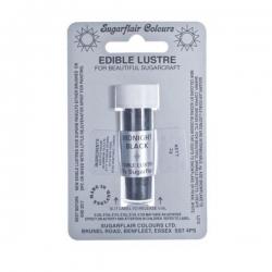 Midnight Black - Sugarflair Edible Lustre Dust