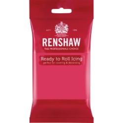 Renshaw Ready to Roll Icing - Fuchsia 250g