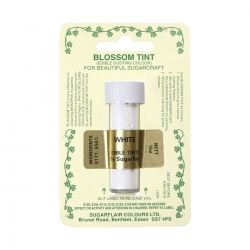 Sugarflair White Blossom Tint Dust Colour