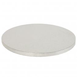 Silver Round Cake Drum