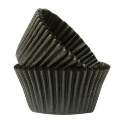 Black Cupcake Cases