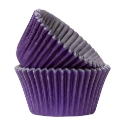 Purple Cupcake Cases