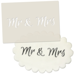 Mr & Mrs Stencil