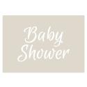 Baby Shower Stencil