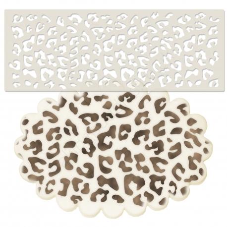 Leopard Animal Print Stencil