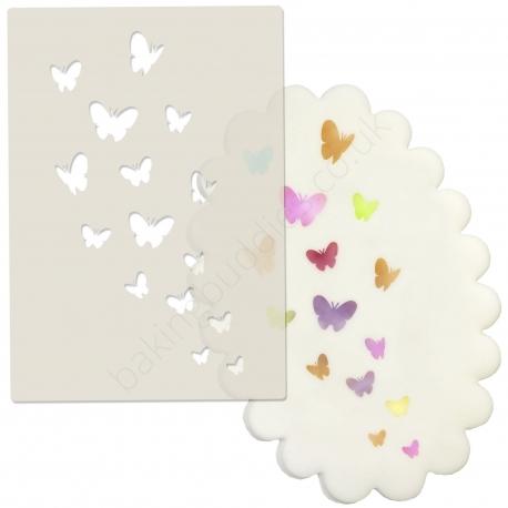 Butterfly Dance Stencil