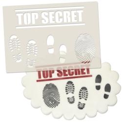 Spy / Secret Agent & Detective Set Stencil