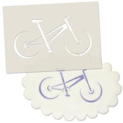 Mountain Bike Stencil
