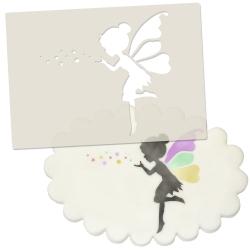 Fairy & Fairy Dust Stencil
