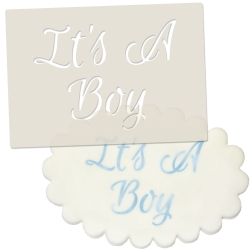 Its A Boy Stencil