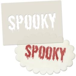 Spooky Halloween Stencil