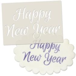Happy New Year Stencil
