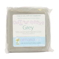 Roll 'n' Cover Grey Sugarpaste 250g
