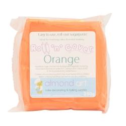 Roll 'n' Cover Orange Sugarpaste 250g