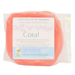 Roll 'n' Cover Coral Sugarpaste 250g