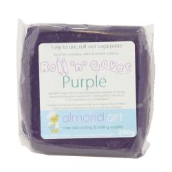 Roll 'n' Cover Purple Sugarpaste 250g