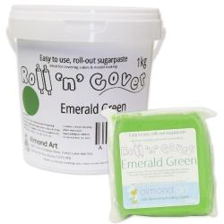 Roll 'n' Cover Emerald Green Sugarpaste