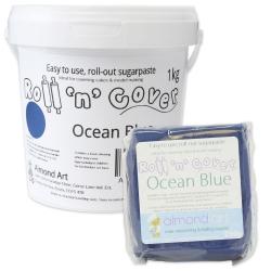 Roll 'n' Cover Ocean Blue Sugarpaste