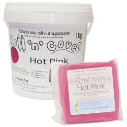 Roll 'n' Cover Hot Pink Sugarpaste