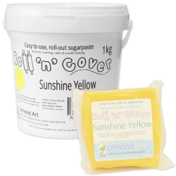 Roll 'n' Cover Sunshine Yellow Sugarpaste