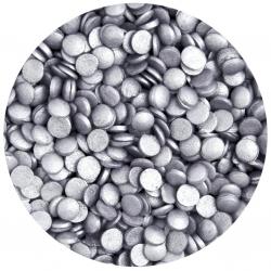 Silver Glimmer Confetti Sprinkles 70g