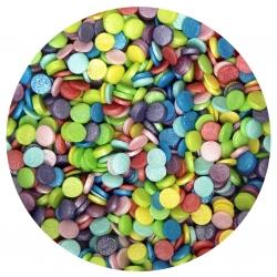 Rainbow Glimmer Confetti Sprinkles 70g