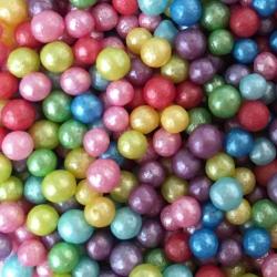 Rainbow Glimmer Pearl Sprinkles 80g