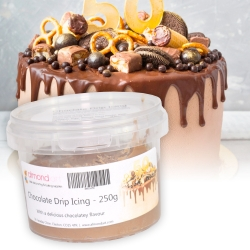 Chocolate Drip Icing - 250g Pot