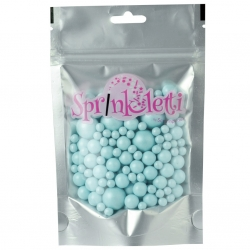Sprinkletti Baby Blue Bubbles Sprinkles 100g